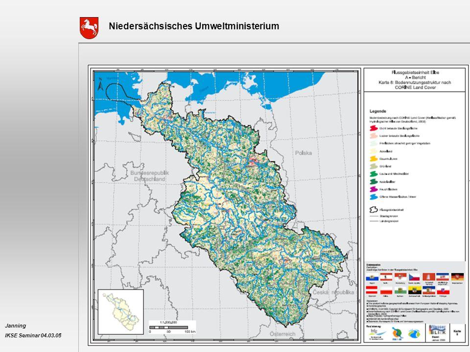 Niedersächsisches Umweltministerium Janning IKSE Seminar 04.03.05