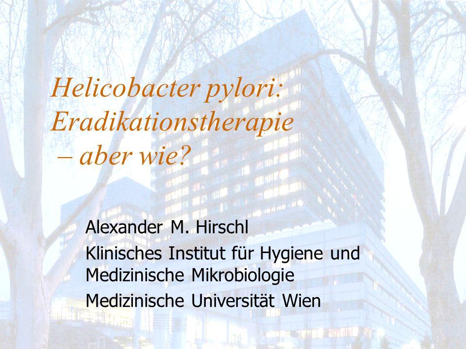 H.pylori – Häufigkeit des Vorkommens Ca.
