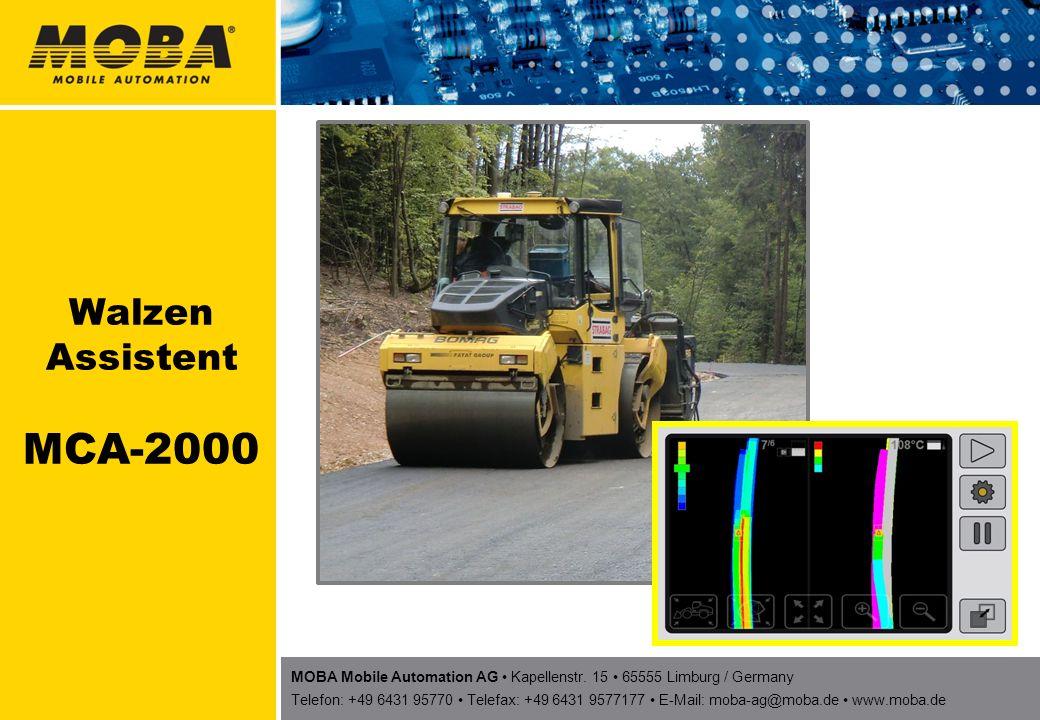 MOBA Mobile Automation AG Kapellenstr. 15 65555 Limburg / Germany Telefon: +49 6431 95770 Telefax: +49 6431 9577177 E-Mail: moba-ag@moba.de www.moba.d