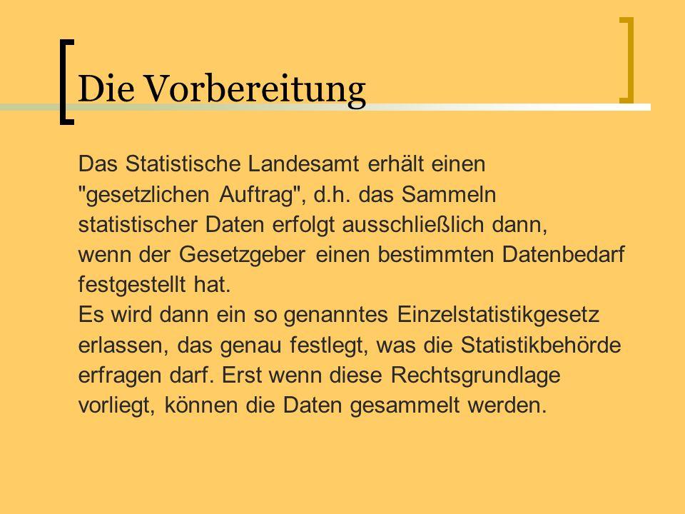 Die amtliche Statistik arbeitet nach den Grundsätzen der Neutralität, Objektivität, wissenschaftlichen Unabhängigkeit und des Datenschutzes.