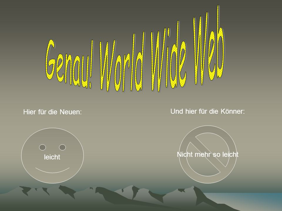Was heißt www? Wir Wissen Was Wer Wie WasWorld Wide Web Wonderful Wite Web 5