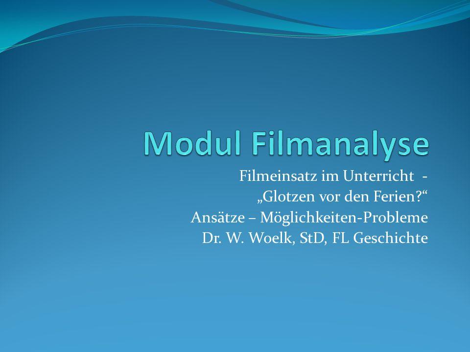 Kategorisierungsversuche Filmdokument Dokumentarfilm Historischer Spielfilm Unterrichtsfilm Spielfilm / Fernsehspiel