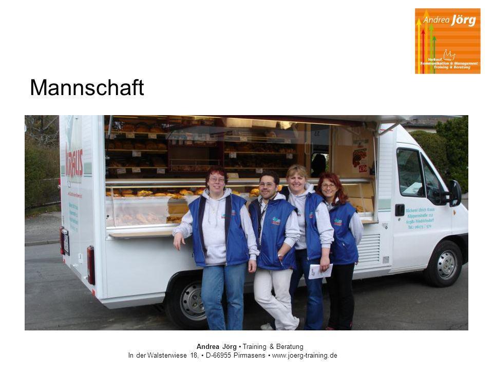 Mannschaft Andrea Jörg Training & Beratung In der Walsterwiese 18, D-66955 Pirmasens www.joerg-training.de