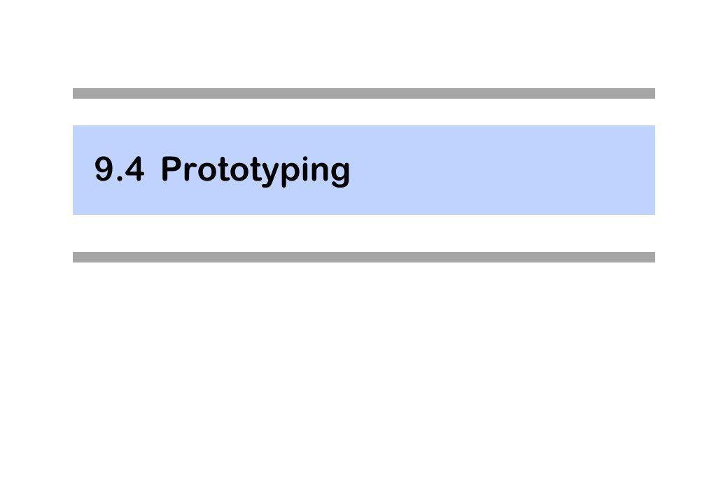 9.4Prototyping