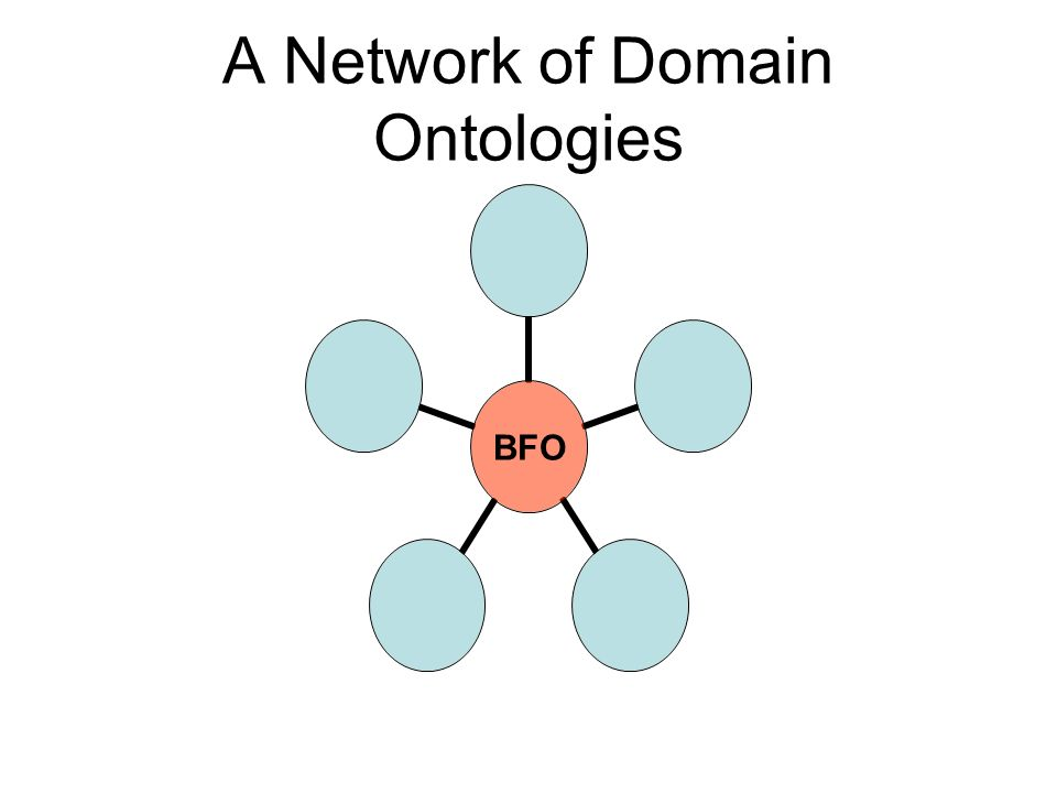 A Network of Domain Ontologies BFO