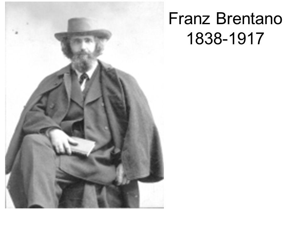 Brentano Carl Anton Christian Kasimir Stumpf Marty von Twardowski Ehrenfels Edmund Alexius Husserl Meinong