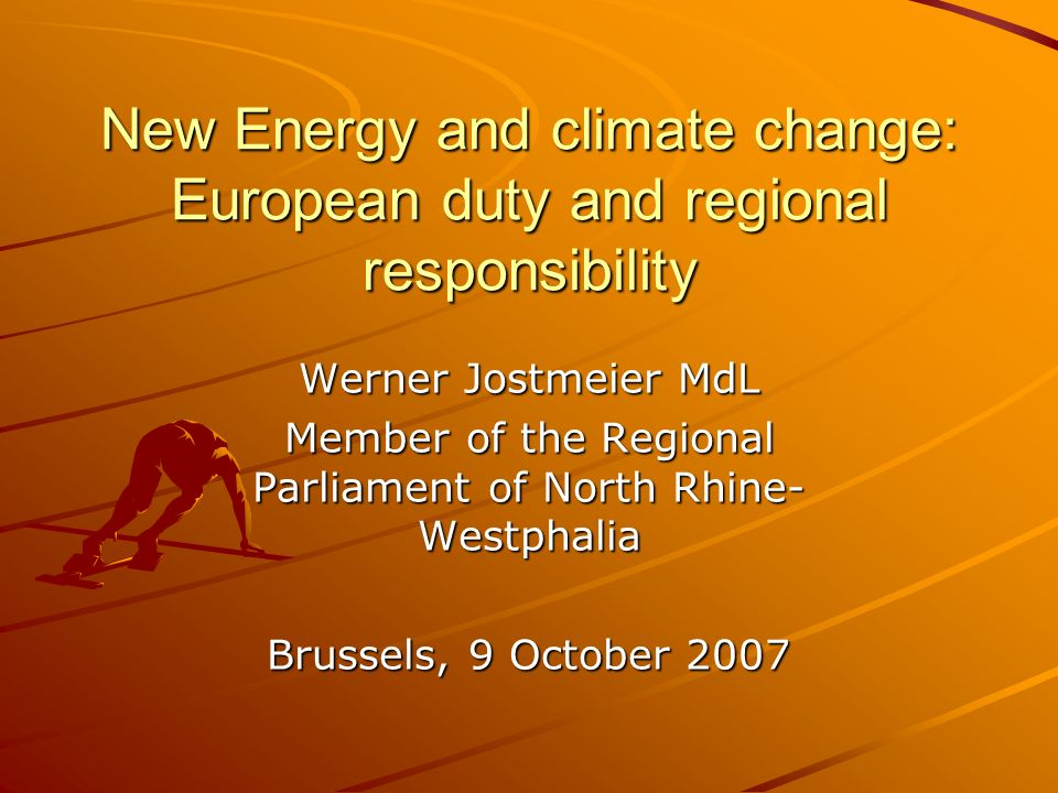 Content Cross-border cooperation between Belgium, the Netherlands and North Rhine Westfalia INTERREG programmes 2007-2013 New Energy and Climate Change: European duty and regional responsibility