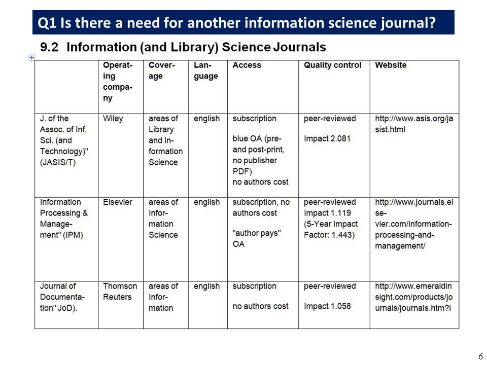 27 Perspektive 1: Je restriktiver das Urheberrecht ist und bleibt, desto eher wird Open Access der offene freie Standard wissenschaftlicher Publikation.