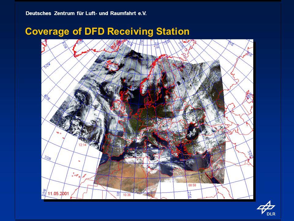 Deutsches Zentrum für Luft- und Raumfahrt e.V. Coverage of DFD Receiving Station