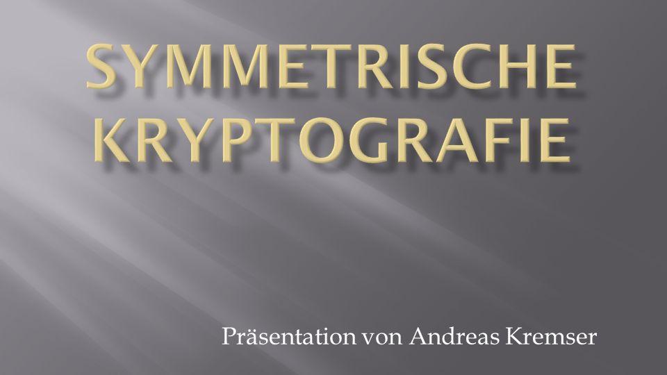 Präsentation von Andreas Kremser