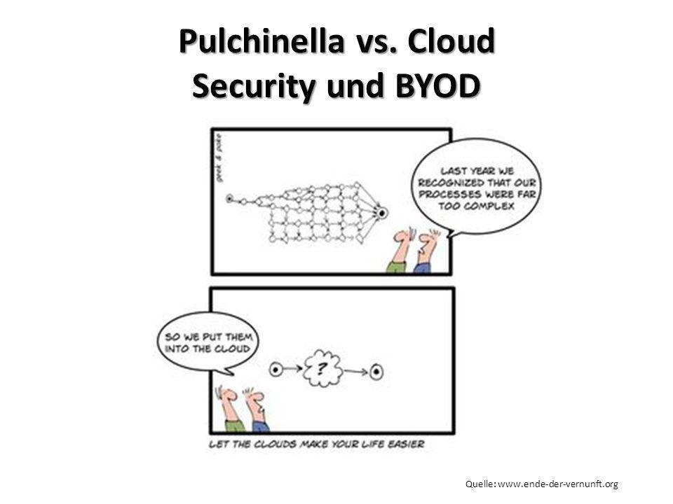 Pulchinella vs. Cloud Security und BYOD Quelle: www.ende-der-vernunft.org