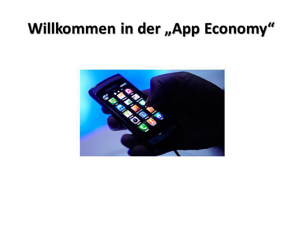 Willkommen in der App Economy