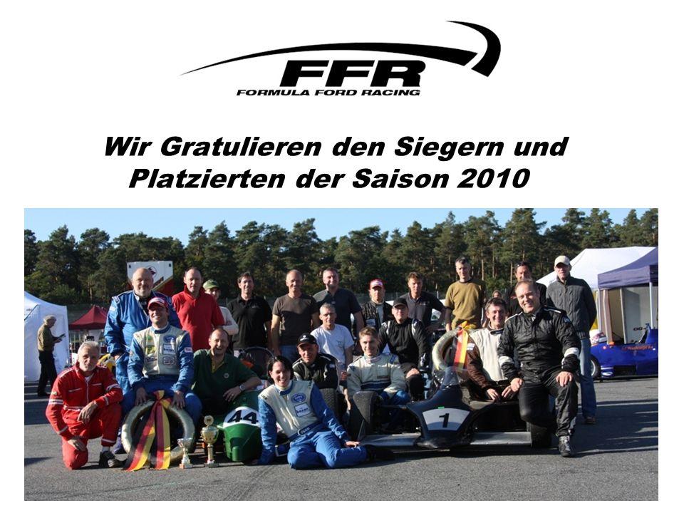 Wir Gratulieren den Siegern und Platzierten der Saison 2010