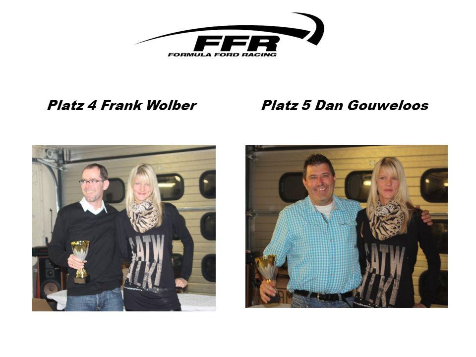 Platz 4 Frank Wolber Platz 5 Dan Gouweloos
