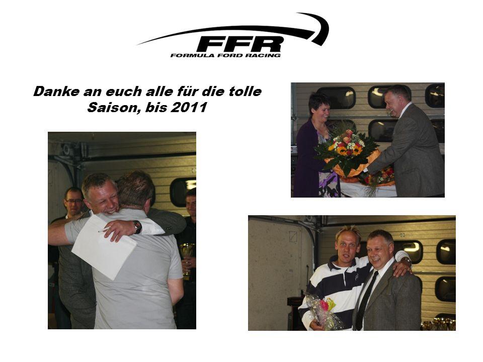 Danke an euch alle für die tolle Saison, bis 2011