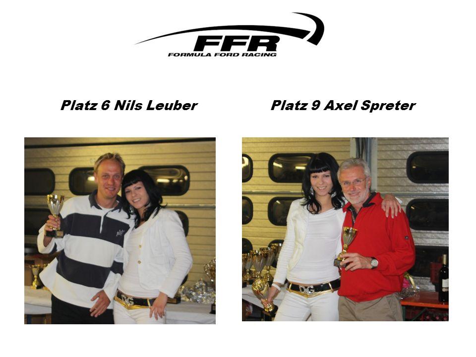 Platz 6 Nils Leuber Platz 9 Axel Spreter