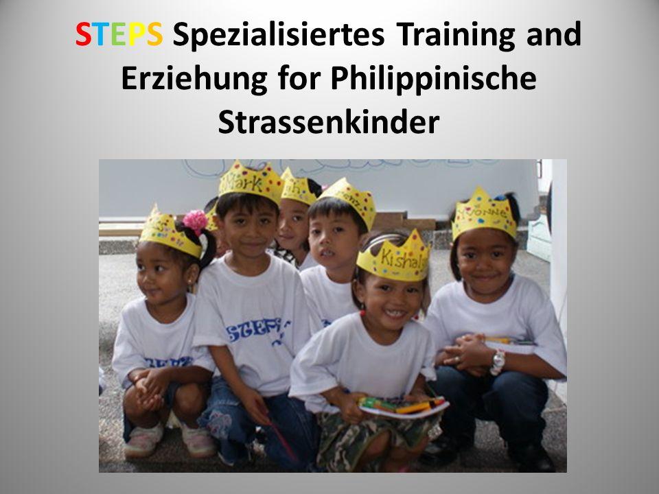 STEPS Spezialisiertes Training and Erziehung for Philippinische Strassenkinder