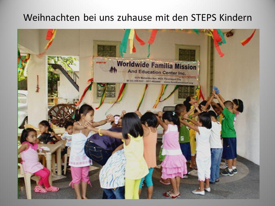 Weihnachten bei uns zuhause mit den STEPS Kindern