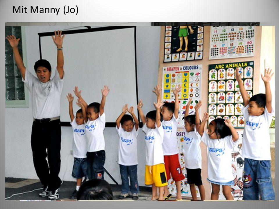 Mit Manny (Jo)