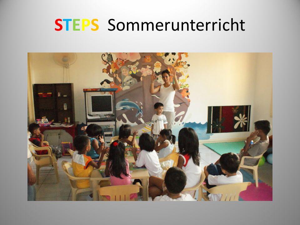 STEPS Sommerunterricht