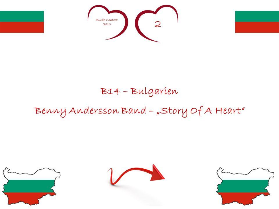 7,5 B21 – Schweden Loreen – My Heart Is Refusing Me