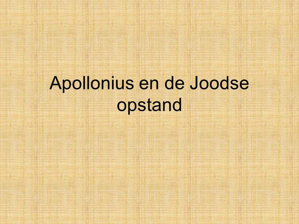 Apollonius en de Joodse opstand