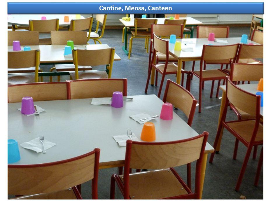 Cantine, Mensa, Canteen