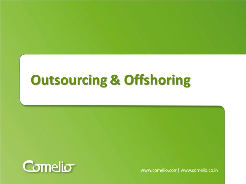www.comelio.com | www.comelio.co.in Team-Organisation – Dediziertes Team Offshoring bei Comelio Projektmanagement des Kunden arbeitet direkt mit ihm zugeteilten Mitarbeitern der indischen Firma zusammen Ab einer kritischen Team-Größe ist hier auch ev.