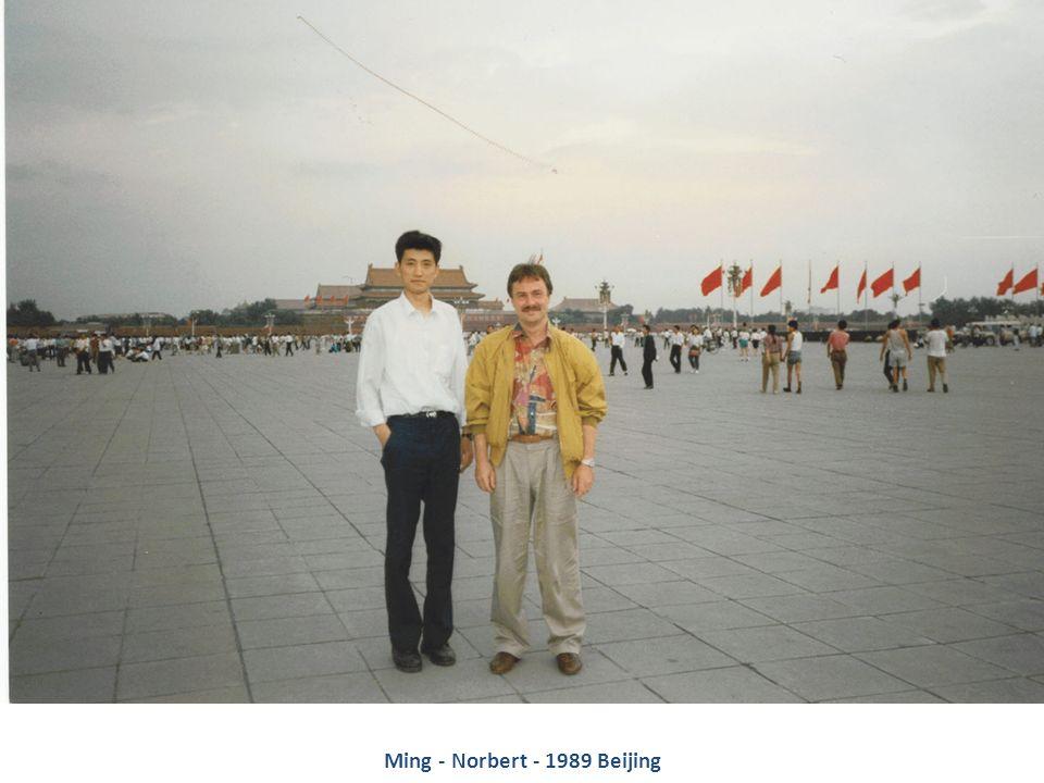 Ming - Norbert - 1989 Beijing