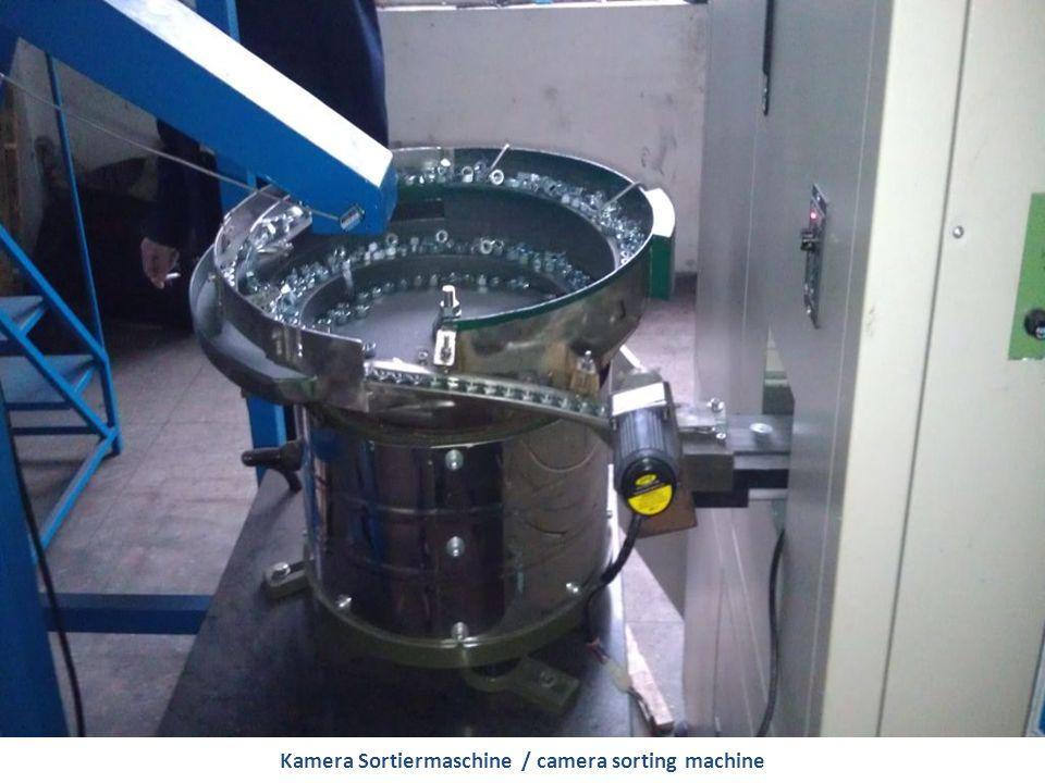 Kamera Sortiermaschine / camera sorting machine