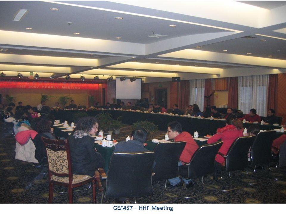 GEFAST – HHF Meeting