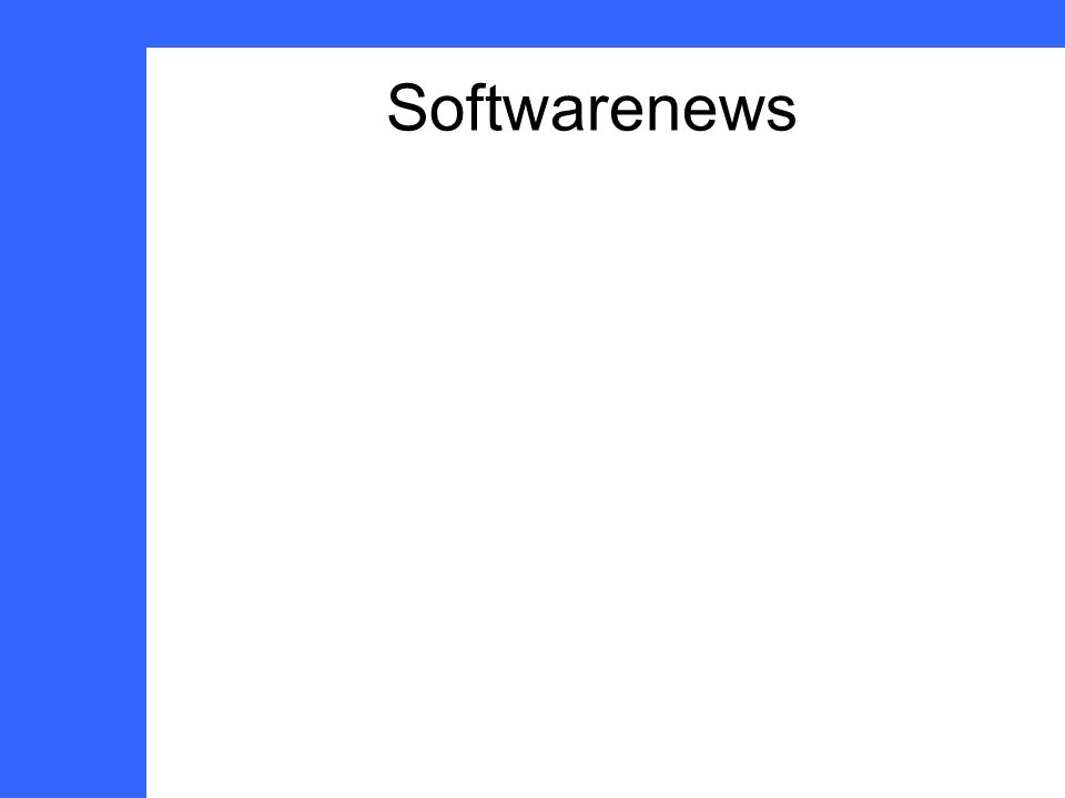 Softwarenews