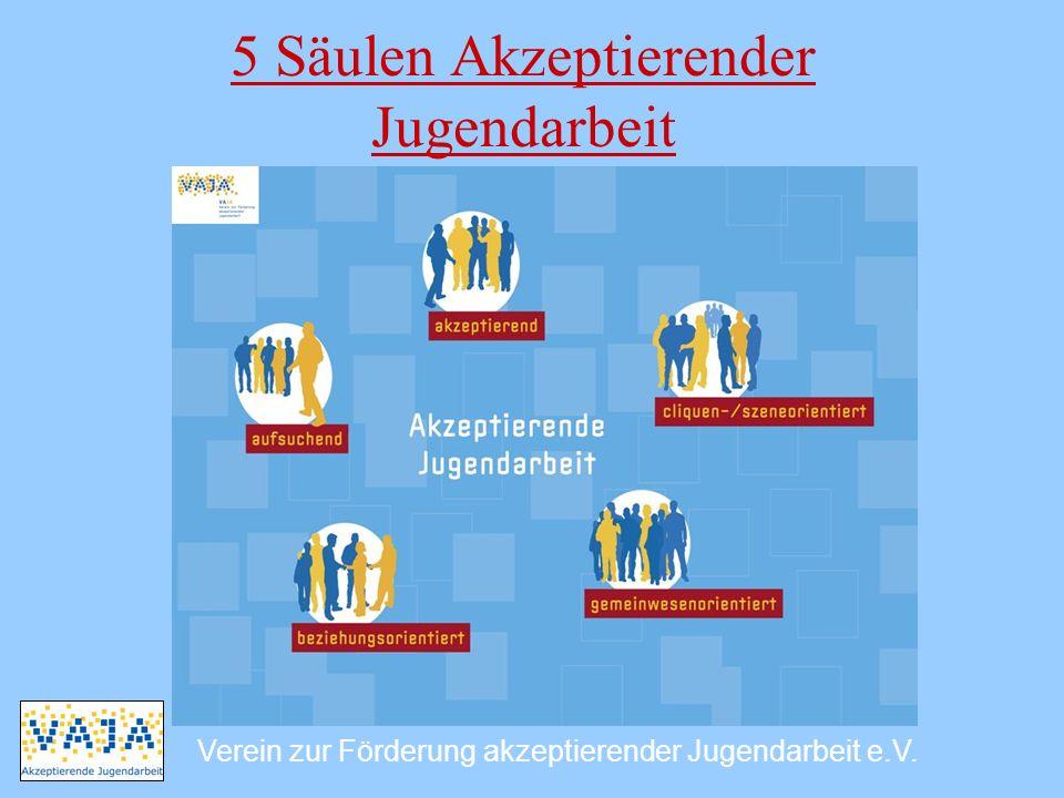 5 Säulen Akzeptierender Jugendarbeit