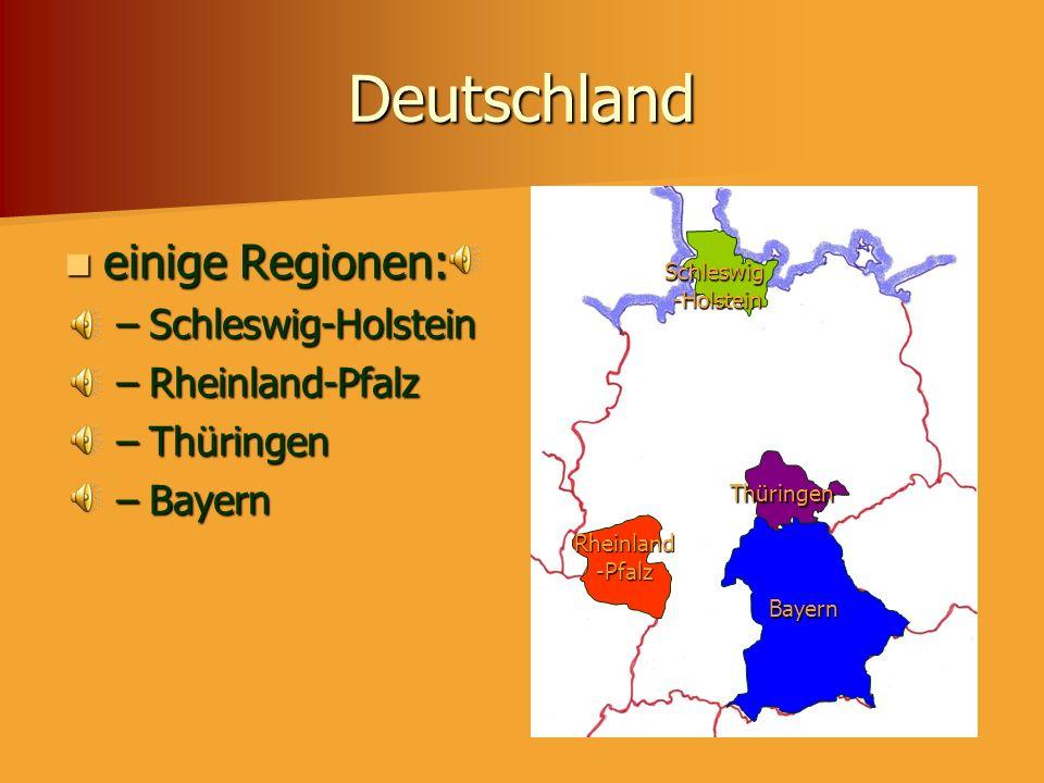 Deutschland einige Großstädte einige Großstädte Flüsse Flüsse Berge Berge Berlin Bayerische Alpen Hamburg München Frankfurt Stuttgart Hannover Dusseld