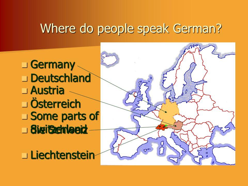 Wie kann man nach Deutschland fahren.