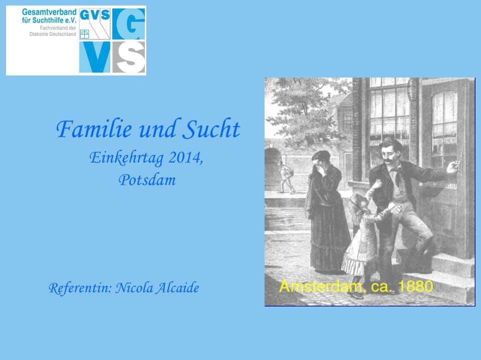 Familie und Sucht Einkehrtag 2014, Potsdam Referentin: Nicola Alcaide