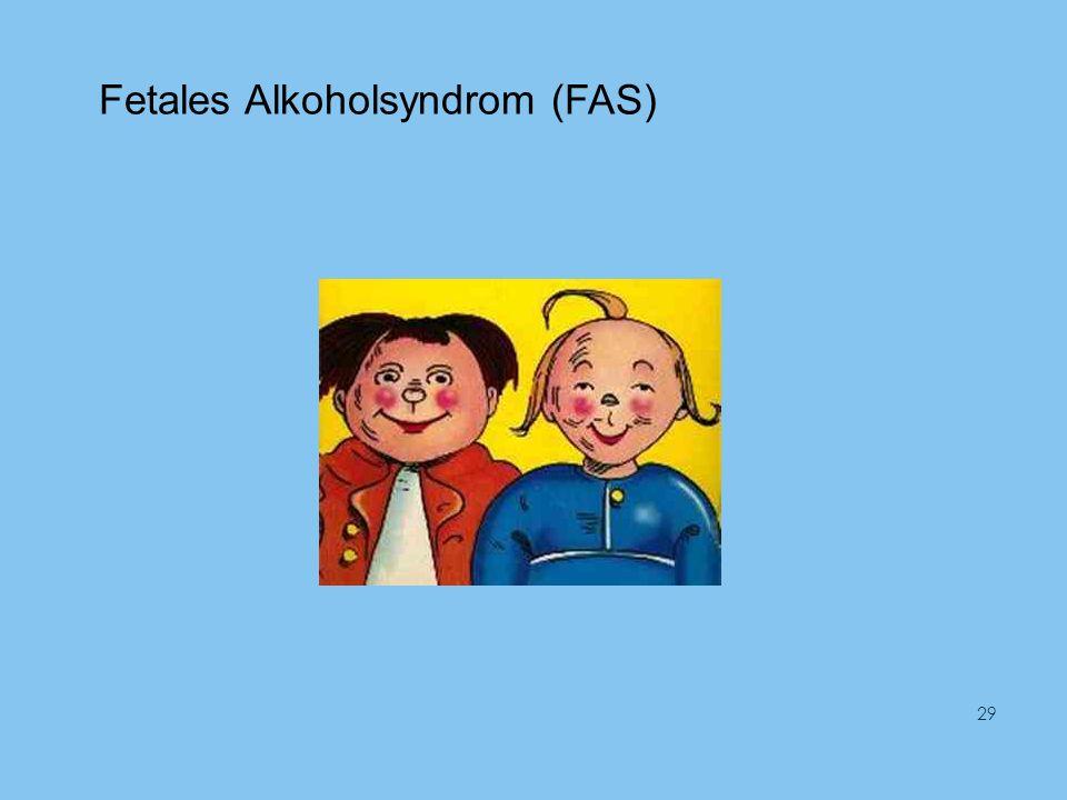 Fetales Alkoholsyndrom (FAS) 29