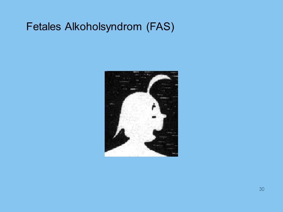 Fetales Alkoholsyndrom (FAS) 30
