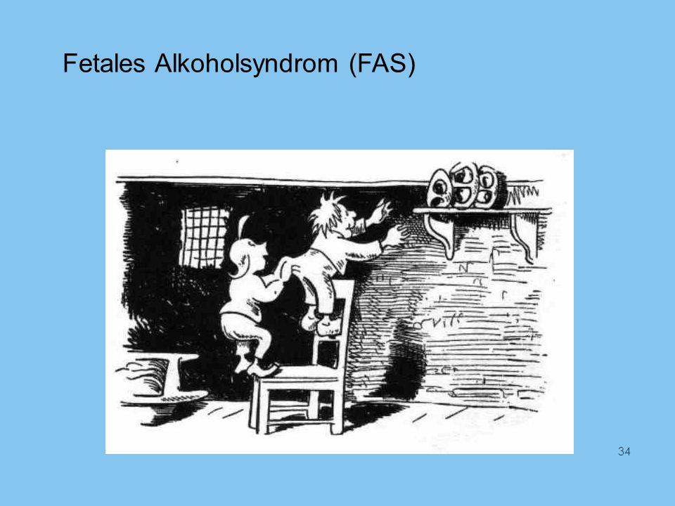 Fetales Alkoholsyndrom (FAS) 34