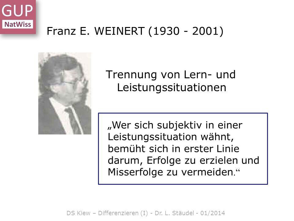 MindManager Smart DS Kiew – Differenzieren (I) - Dr. L. Stäudel - 01/2014