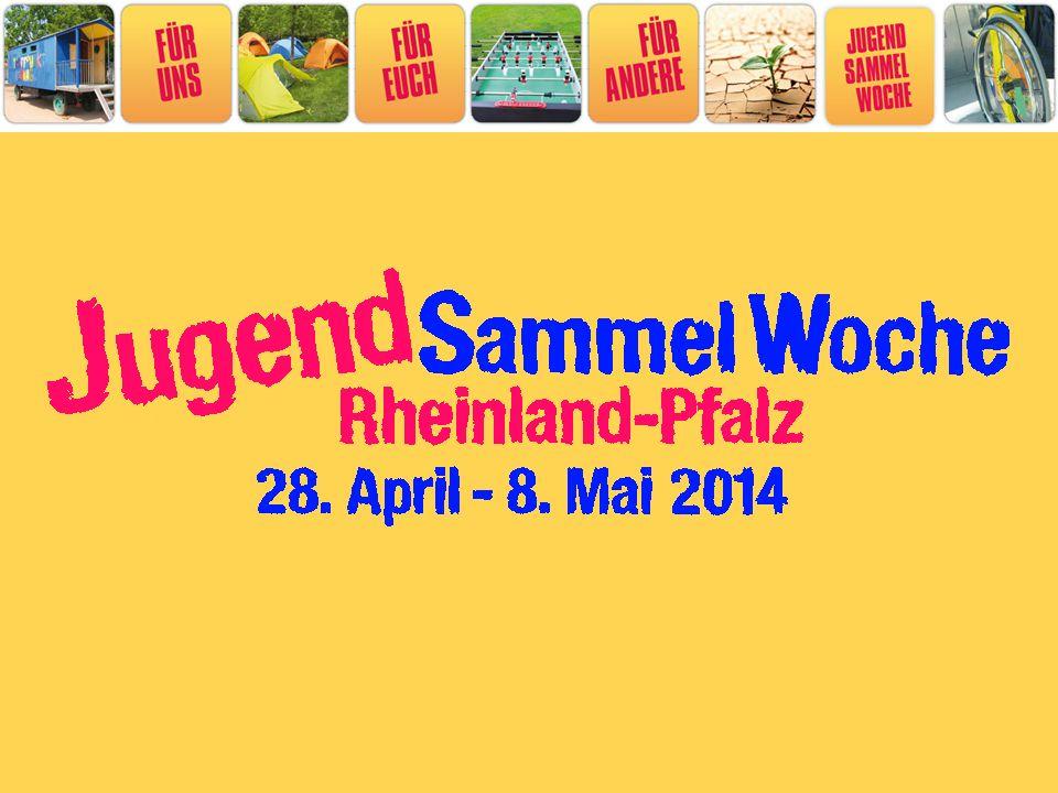 Wer darf mitmachen Alle Jugendgruppen in Rheinland-Pfalz.
