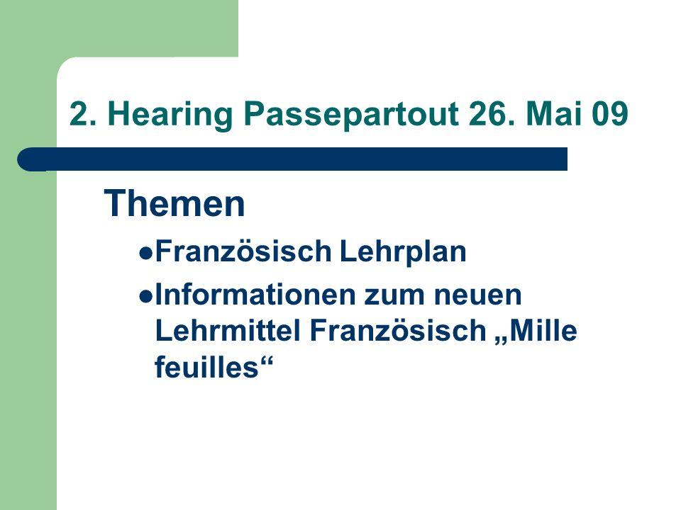 2. Hearing Passepartout 26.