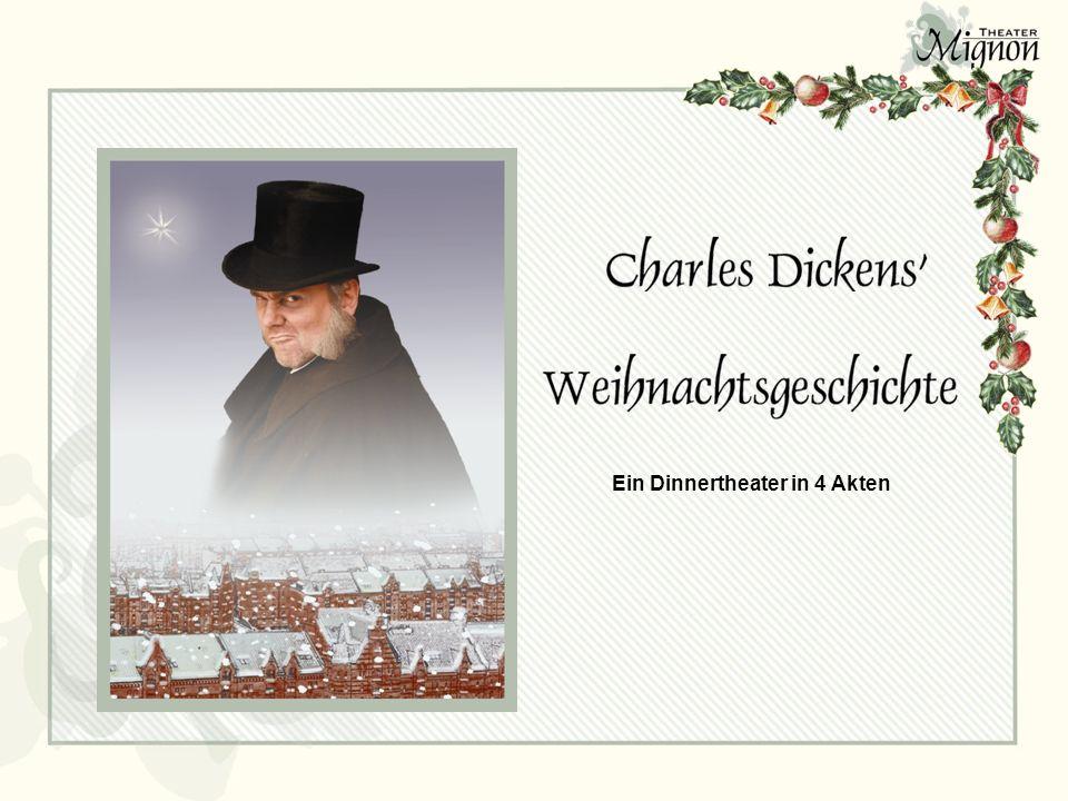 Scrooge und Belinda Dickens Willkommen im ver- schneiten London des 19.