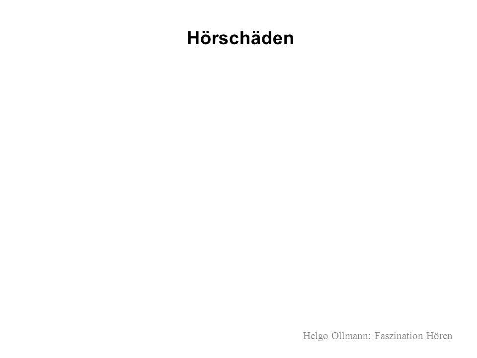 Helgo Ollmann: Faszination Hören Hörschäden