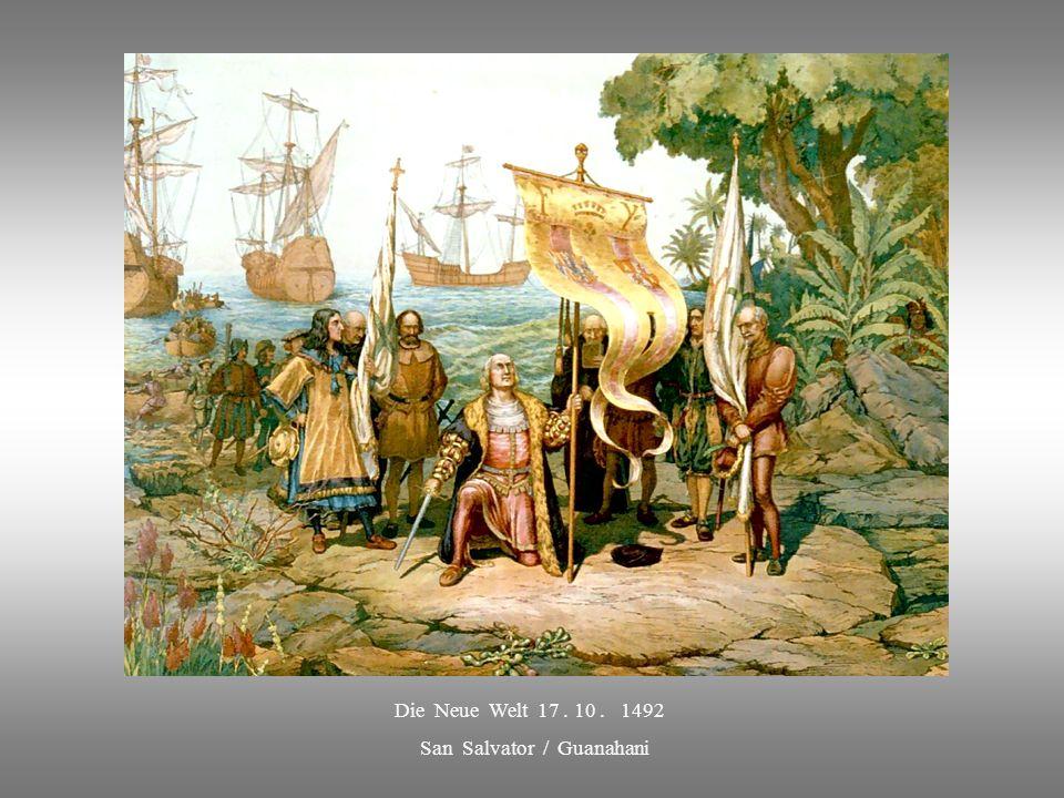 ABSCHIED von SPANIEN 3. 8. 1492