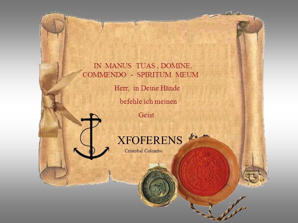 am 20. 5. 1506 stirbt Christoforo Columbus ein Mann der die Welt veränderte