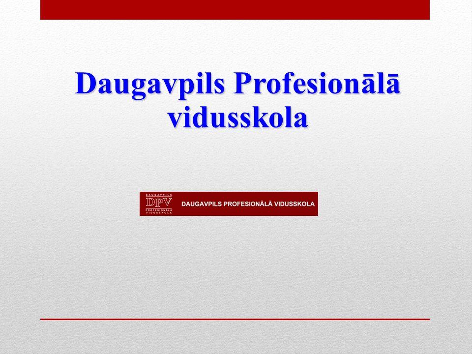 Daugavpils Profesionālā vidusskola