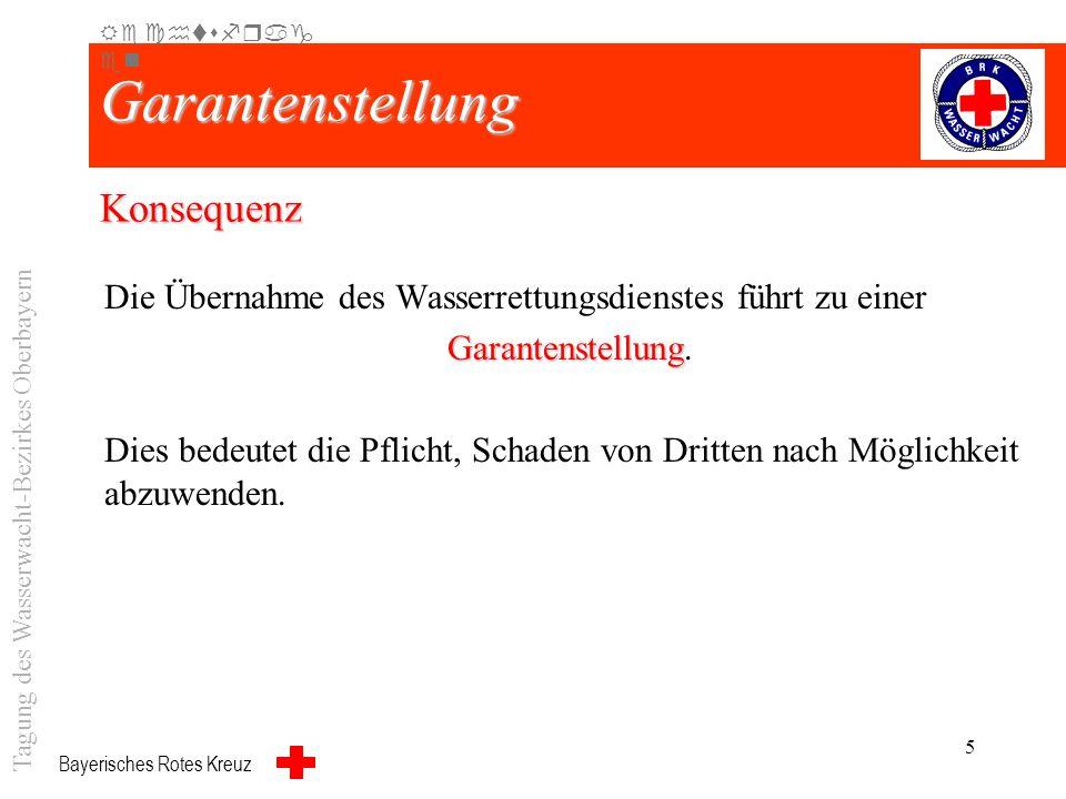 Bayerisches Rotes Kreuz 4 Gesetzliche Grundlagen Art. 19 Abs. 1 BayRDG 1 Der Rettungszweckverband überträgt die Durchführung der Aufgabe nach Art. 18