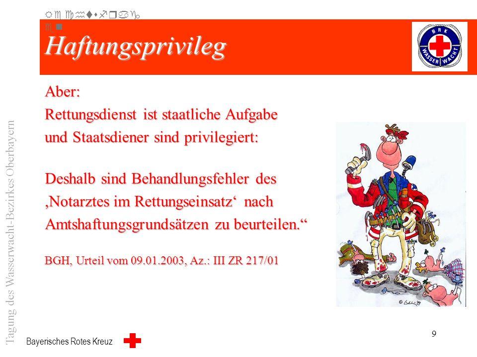 Bayerisches Rotes Kreuz 8 Täter (1)Wer vorsätzlich oder fahrlässig das Leben, den Körper, die Gesundheit, die Freiheit, das Eigentum oder ein sonstige