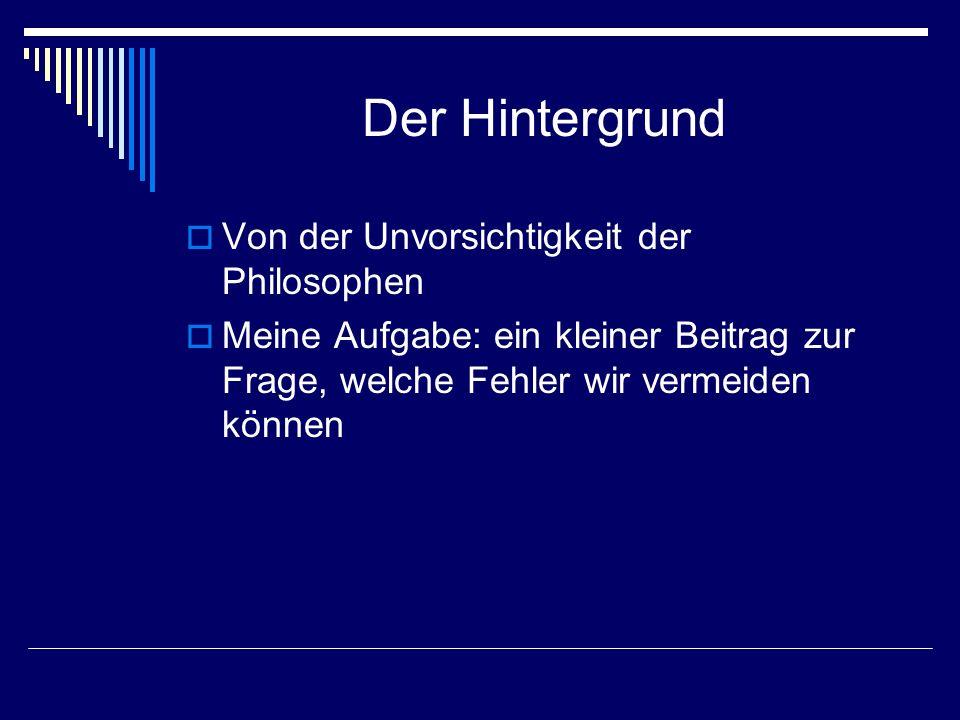 Freiheit Dem Entwurf zu den Zielen, zu denen sich die Old Tablers Deutschland bekennen mögen, entnehme ich als erstgenanntes Ziel die Verteidigung der Freiheit.